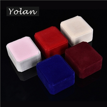 necklace box ring box velvet jewelry box manufacturers Yiwu