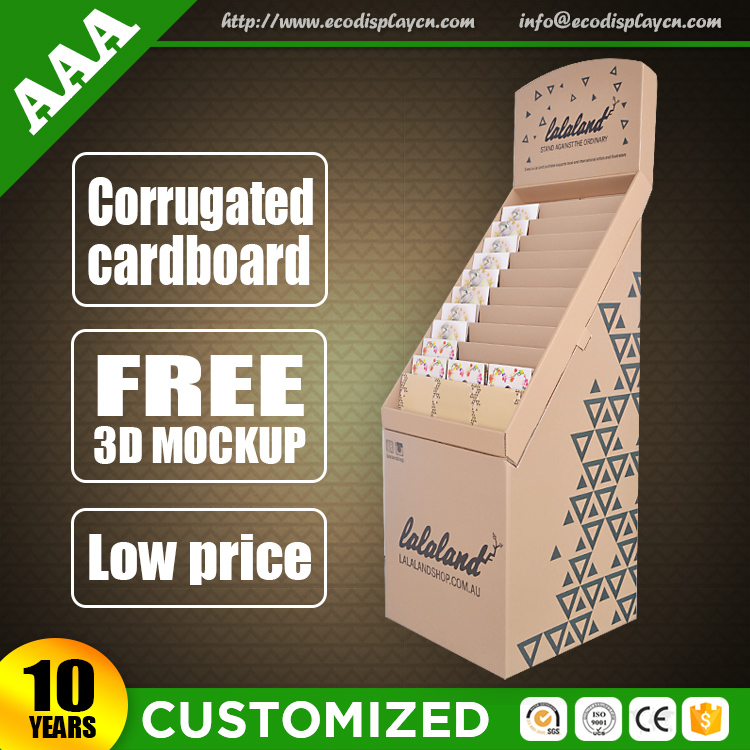 Cheap Price Customized Cardboard Business Card Wholesale Display Stand from China