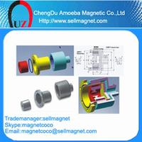 600Nm Permanent Magnetic Drive Shaft Coupling