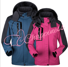 Wholesale Ployester Jackets Men and Women Outdoors Mountaineering Wear New Design Waterproof Breathable Hiking Wear