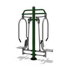 Famous Products Made in China My Gym Fitness Equipment Multi Body Strong Machine Double Seated Chest Press In Park