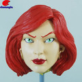 Poly Customized Game Character Figurine Head Model