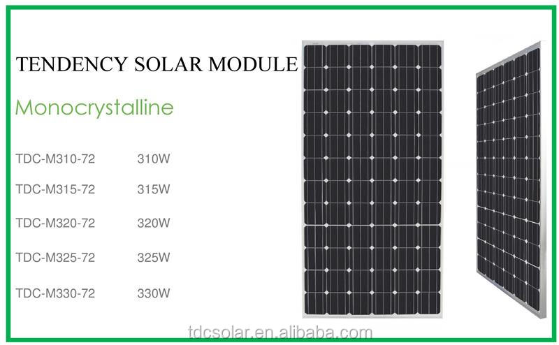 high efficiency 5BB 330w 340w 350watt mono solar panel with competitive price