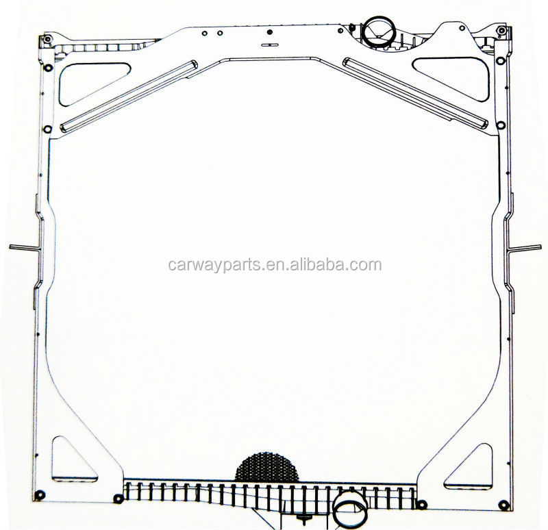 CW-TR0993 RADIATOR FOR VOLVO '99- NH 12 340/NH 12 380/NH 12 420/NH 12 460
