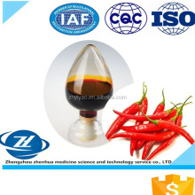 High quality Capsicum Extract capsicum oleoresin/100% Natural capsicum oleoresin
