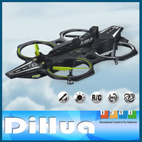 Super Ship R/C Drone UFO 4.5CH 2.4GHz RC Quadcopter with Gyro