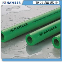 wholesale ppr pipe (hot water) green metal plastic ppr pipe adequate quality ppr pipes