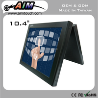 AIMTOUCH 10.4 inch Resisitive,Open Frame Industrial laptop screen 1024x768 Touch Screen Monitor Taiwan
