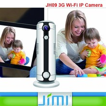 WIFI + WCDMA / GSM 3G IP Camera smallest cctv camera with night vision and motion detection JIMI JH09