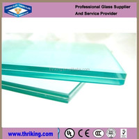 cutting small size tempered laminated glass with edge polished
