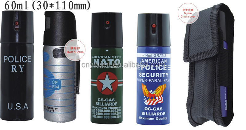 Police self defense pepper spray <strong>manufacturing</strong>