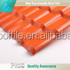 waterproof heat insulation color plastic synthetic material roofing sheet