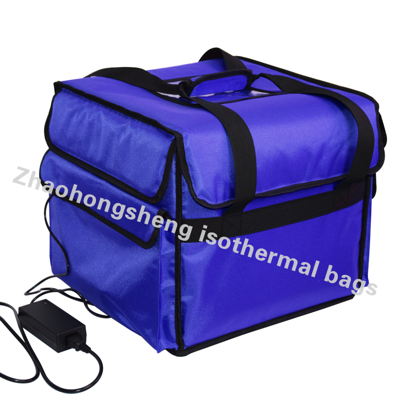 12V heated backpack lunch insulated food pizza delivery cooler bags element