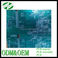Electronic manufacturing 6 layers pcba automotive printed circuit board
