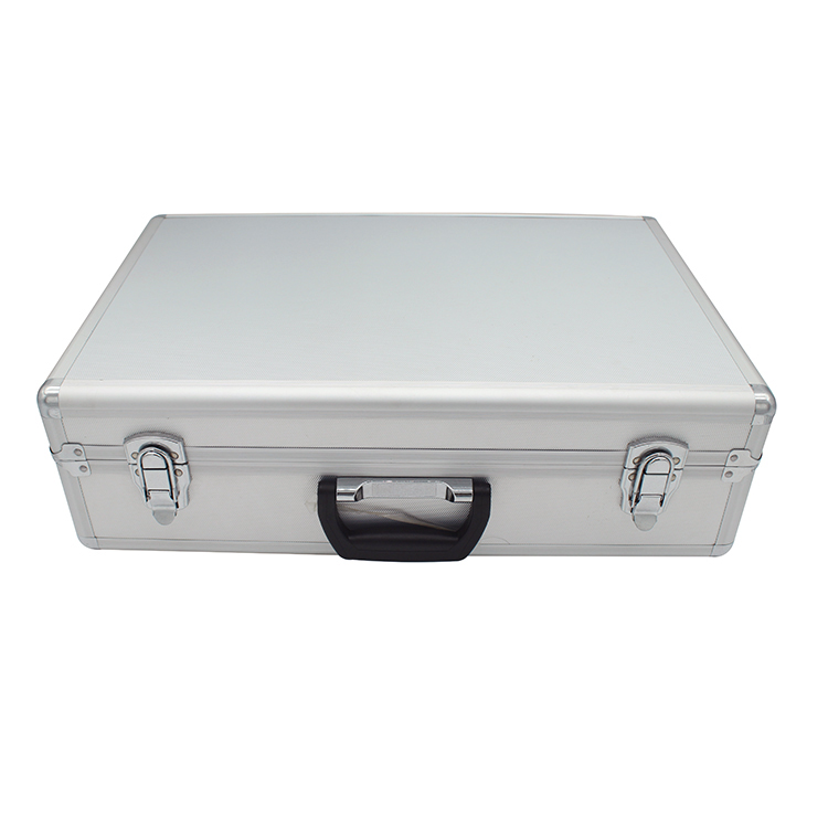 Aluminium case hand tool set customized portable CD storage box