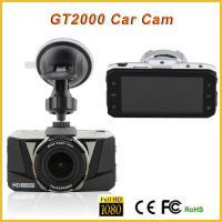 2015 New Model front rear camera car dvr 170 degree wide angle lens full hd car blackbox camera, windshield camera