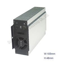 circuit board aluminum extrusion enclosure electronics boxes for switch mode power supply