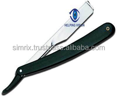 Shaving Razor with pipe Model S.Steel Available in different Colors , Manicure & Pedicure , Simrix