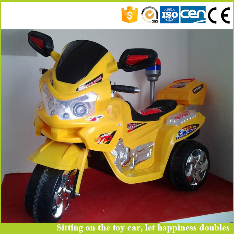 Factory price plastic toy cars 6V drive kids mini electric motorcycle car for sale