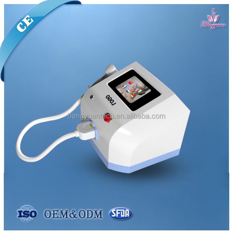 Promotion price portable diode lasr 808nm hair removal machine