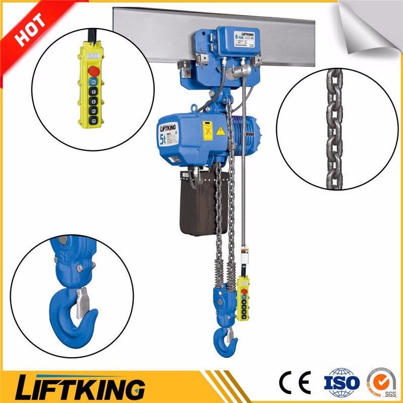 monorail frame crane hoist with remote control , lifting equipment maufacturer with ISO , CE certification