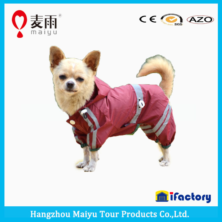 Wholesale Doggie raincoat, pet wear