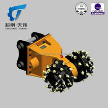 IS 9001 Powerful Roadheaders Rock cutting Milling machinery Transverse cutter
