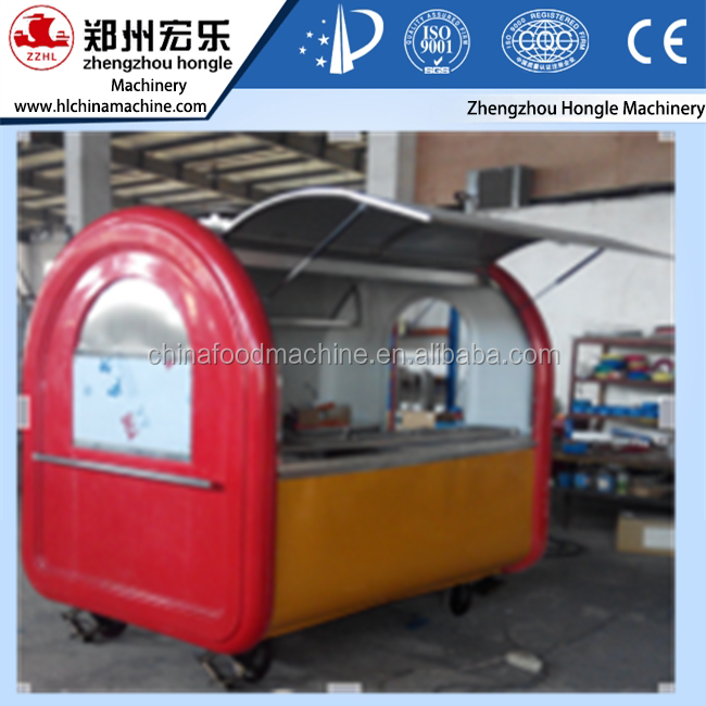Mobile Food Cart , Outdoor Mobile Food Cart , Stainless Steel Food Cart
