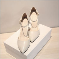 D92033T new design fashion leather sexy high heel cusp women shoes