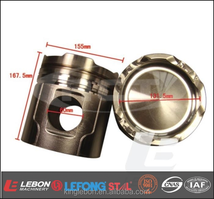 6D155 Forged Piston for Excavator