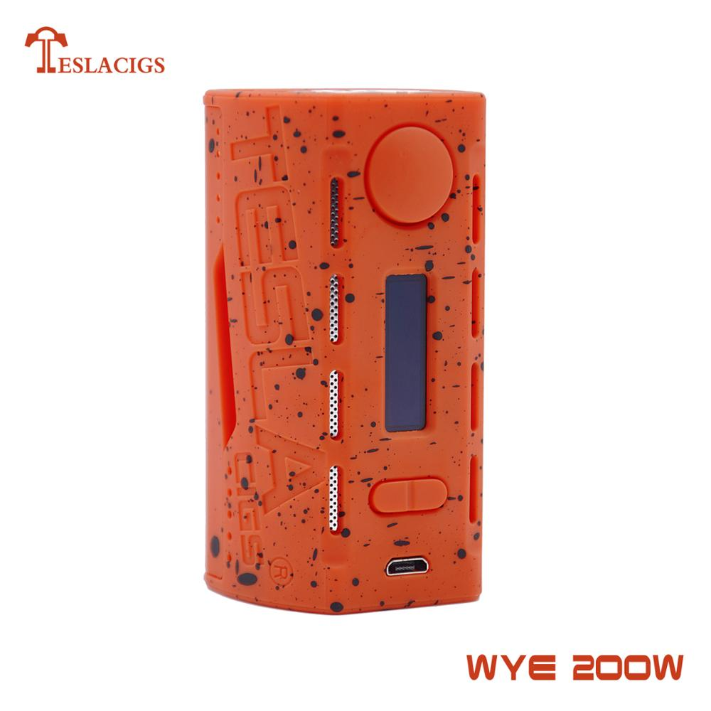2018 unbelievable Tesla WYE 200w vape mod hot selling