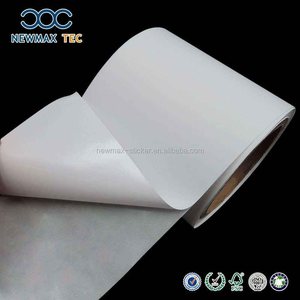 Adhesive Blank Thermal Sticker Paper Roll sheet,Made in China