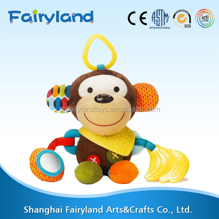 China alibaba sales Small monkey with banana child toy top selling products in alibaba