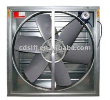 wall/window mounted axial flow exhaust fan