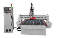 OMNI 1325 ATC CNC router for furniture and woodworking
