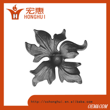 aluminum casting fence flowers and decoration