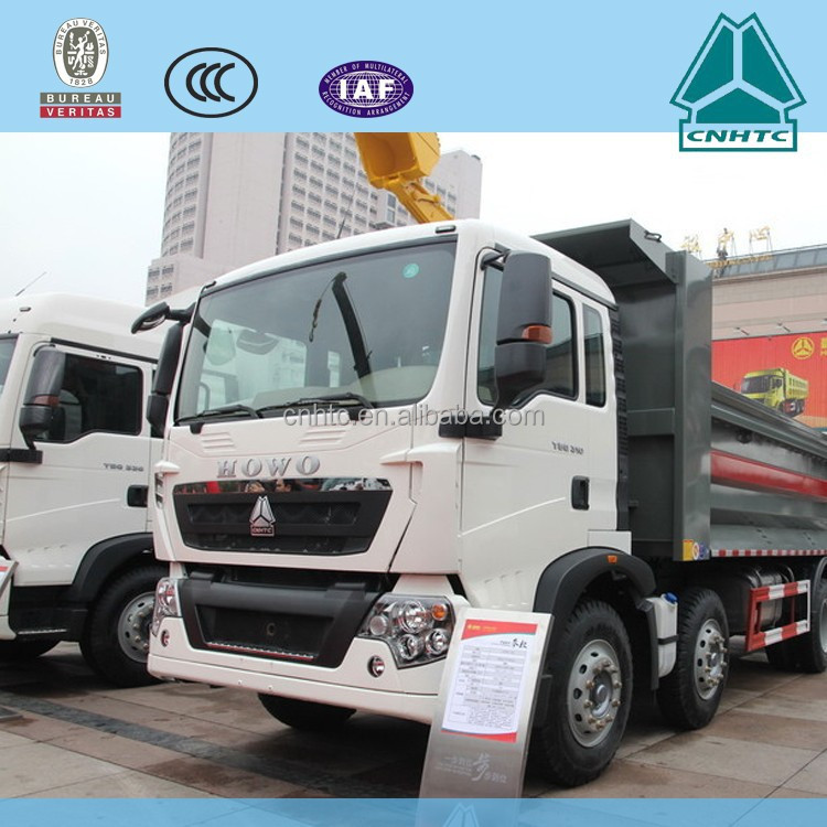 HOWO dump truck china factory for sale holland used 20 ton truck