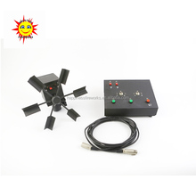 Happiness wired control Single wheel fountains system for stage sparklars fireworks