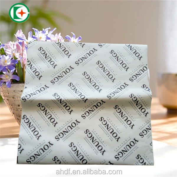 40gsm food grade PE coated wrapping paper for sandwich / accept custom design
