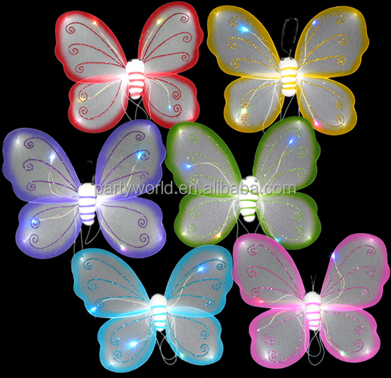 small angel wings butterfly wings decoration for crafts flashing wings
