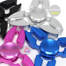 2017 Guangzhou Factory Treading Product Cube Aluminum Alloy Fidget Spinner Toys