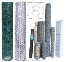 (Manufacturer) Galvanized/PVC coated Hexagonal Wire Mesh /Livestock Wire Netting