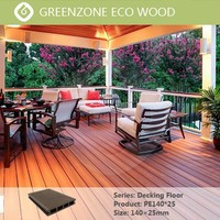 Engineered Flooring Type and Laminate Flooring WPC Outdoor Black Deck Sheet