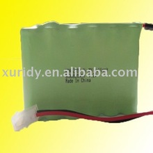 6 AA 800mAh 7.2V Ni-MH rechargeable battery pack