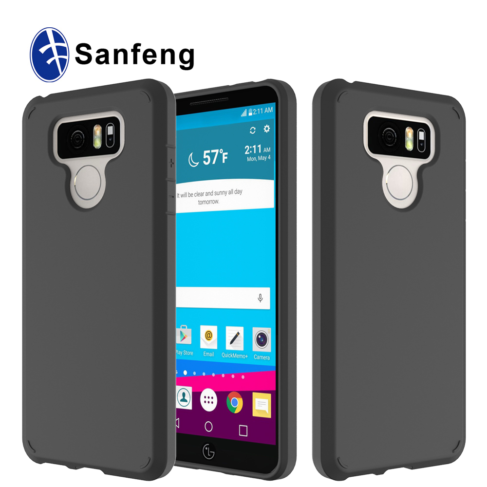 2017 New cheap Anti drop slim TPU case for LG G6 6 Colors available