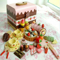 Mother Garden Chocolate box children pretend play wooden play kitchen toy
