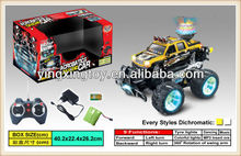 hot sell 1:14 7 channel MP3 music rc stunt car