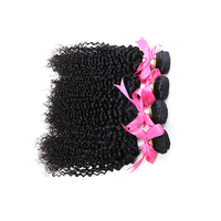 Wholesale factory price Malaysian Hair spiral curl human hair weaving 14 inch
