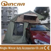 Folding waterproof 4x4 roof tent made with ripstop 280g Canvas