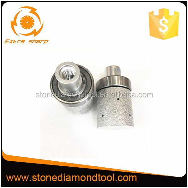 Vacuum Brazed Diamond Finger Bits for Stone and Concrete Milling